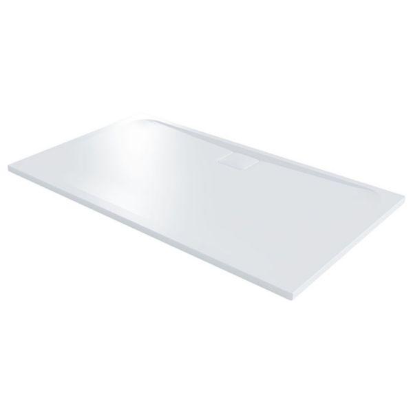 Nexa By Merlyn 25mm Rectangular Low Level White Shower Tray