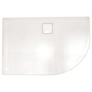 Nexa By Merlyn 25mm Quadrant Low Level White Shower Tray White - 900 x 900mm