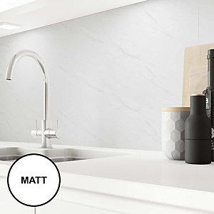 Image of AluSplash Splashback Marble 900 x 800mm - Matt