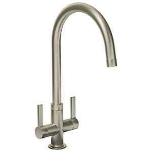 Abode Pico Monobloc Kitchen Tap Brushed Nickel