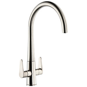Abode Coniq R Monobloc Kitchen Tap Brushed Nickel