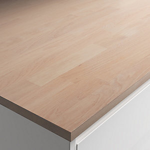 Engineered Oak with White Oil Worktop Sample 22mm