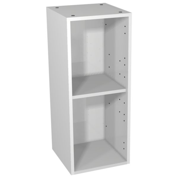 Wickes Hertford Dove Grey Open Display Unit - 300 x 735mm