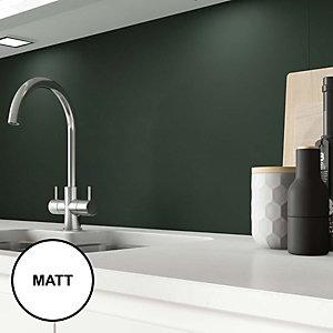 Image of AluSplash Splashback Forrest Green 900 x 800mm - Matt