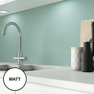 Image of AluSplash Splashback Green Mist 800 x 600mm - Matt