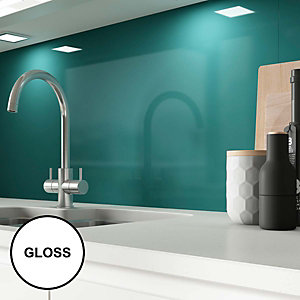 AluSplash Splashback Totally Teal - Gloss