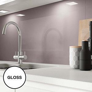 Image of AluSplash Splashback Grey Lavender 900 x 800mm - Gloss