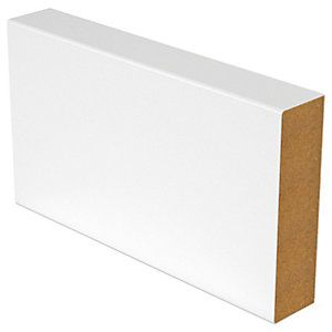 Wickes Square Edge Skirting - 18mm x 144mm x 3.6m Pack of 2
