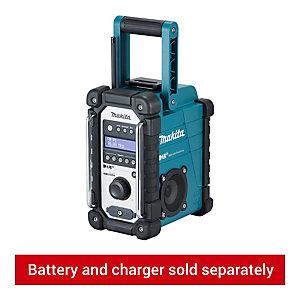 Battery Makita DMR110 DAB Charger Kit 10.8v-18v Blue LI-ion Job Site Radio