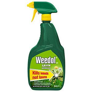 Image of Weedol Ready to Use Lawn Weed Killer Gun - 800ml