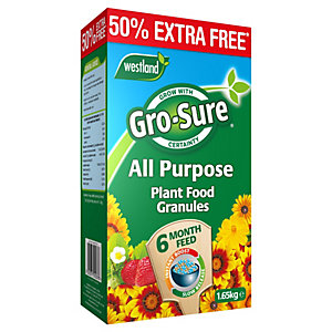 Gro-Sure 6 Month Slow Release Plant Food - 1.1kg (+50% extra free)