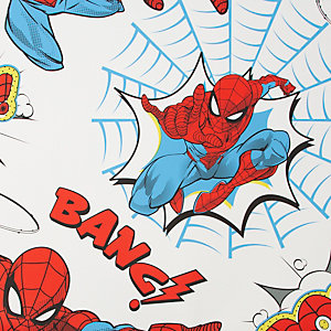 Marvel Spiderman POW! Red Wallpaper 10m
