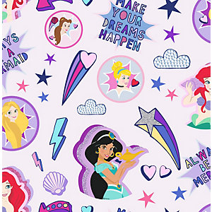 Disney Princess Badges Wallpaper 10m