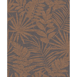 Superfresco Easy Fenne Dark Rust Brown Wallpaper 10m