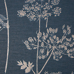 Superfresco Easy Wild Flower Navy Wallpaper 10m
