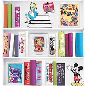 Disney Bookshelf Wallpaper 10m