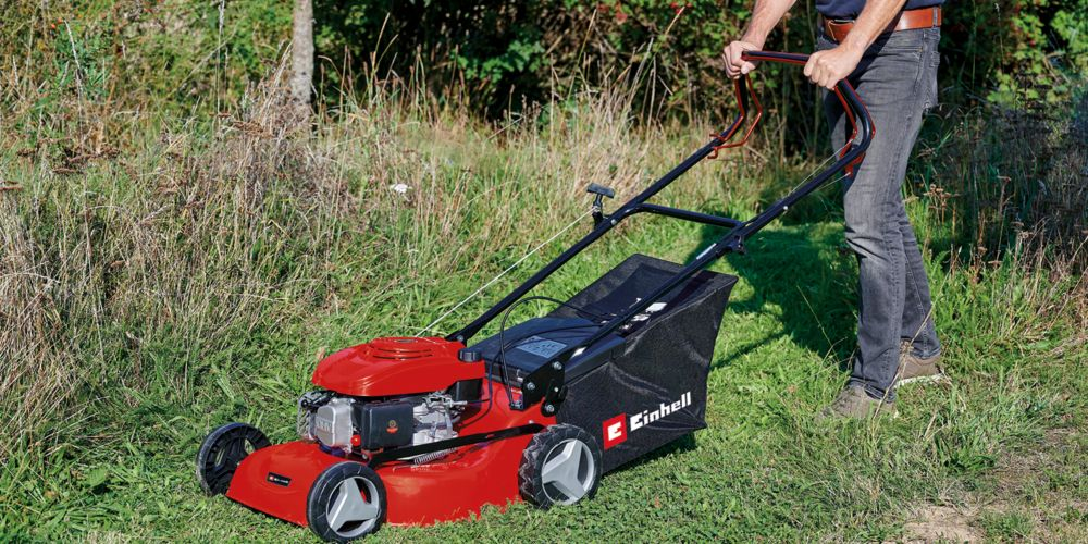 Einhell 46cm Self Propelled Petrol Lawn Mower