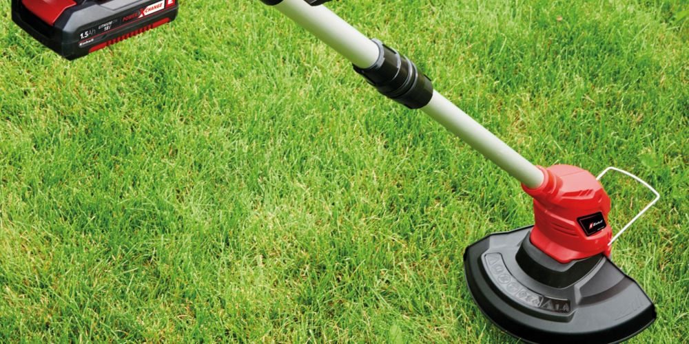 Einhell Power X-Change 18V Cordless Grass Trimmer Kit