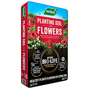 Image of Westland Bio Life Garden Planting Soil - 40L