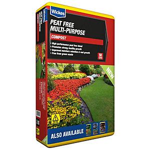 Image of Wickes Peat Free Multi-Purpose Compost - 50L