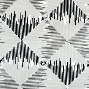 Arthouse Aztec Geometric Mono Wallpaper 10.05m x 53cm