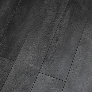 Novocore Embossed Dark Grey Luxury Vinyl Flooring - 1.98m2