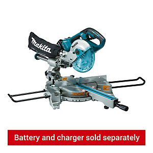 Makita DLS714NZ Twin 36V 190mm Sliding Compound Cordless Mitre Saw - Bare
