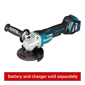 Makita DGA517Z 18V LXT 125mm Brushless Cordless Angle Grinder - Bare