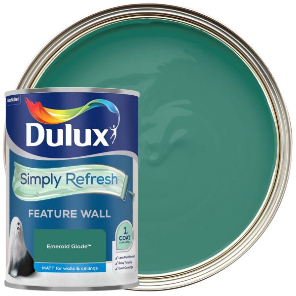 Dulux Simply Refresh One Coat - Melon Sorbet - Feature Wall Paint
