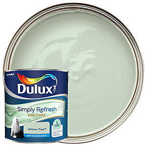 Dulux One Coat - Willow Tree - Simply Refresh Matt Emulsion Paint 2.5L