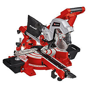 Einhell Expert TE-SM 216 Dual 216mm Corded Double Bevel Sliding Mitre Saw - 1800W