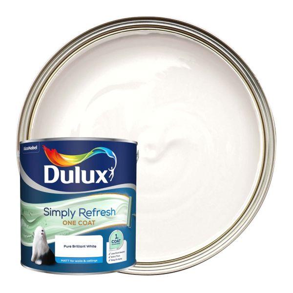 Dulux Simply Refresh One Coat - Pure Brilliant White