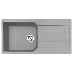 Franke Urban Granite 1 Bowl Kitchen Sink - Grey
