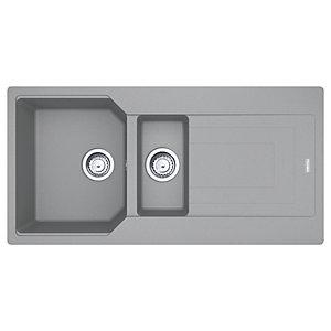Franke Urban Granite 1.5 Bowl Kitchen Sink - Grey