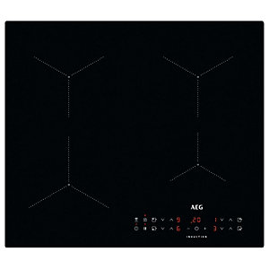 AEG ILB64334CB Black Plug & Play Induction Hob - 60cm