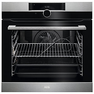 AEG BPK948330M Connected Pyrolytic Oven - Stainless Steel