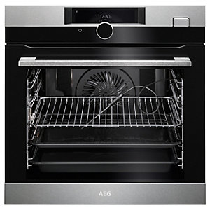 AEG BSK978330M Connected SteamCrisp Oven - Stainless Steel