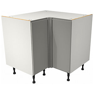 Camden Dove Grey Corner Base Unit - 925mm