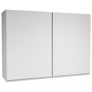 Camden White Wall Unit - 1000mm