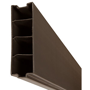 Image of DuraPost Composite Gravel Board Sepia Brown - 50mm x 150mm x 1.83m