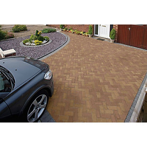 Marshalls Driveline Priora Driveway Block Paving Bracken - Sample