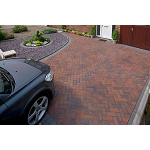 Marshalls Driveline Priora Driveway Block Paving Brindle - Sample