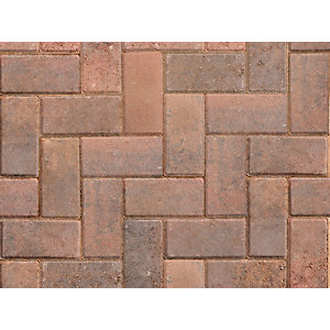 Marshalls Driveway Block Paving Brindle - Sample