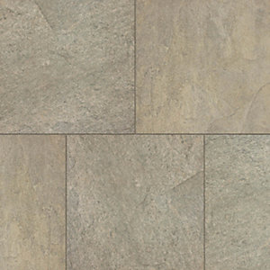 Marshalls Symphony Smooth Rustic Porcelain Paving Patio Pack - Sample