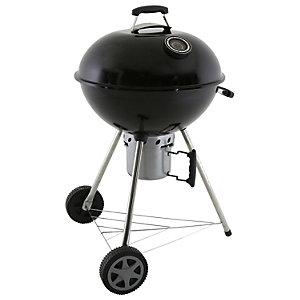 Charles Bentley Premium Charcoal Kettle BBQ - Black