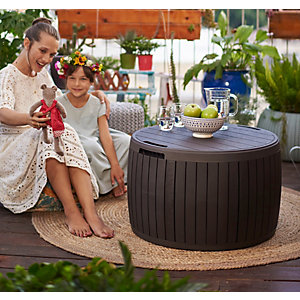 Keter Circa Garden Storage Box - 140L