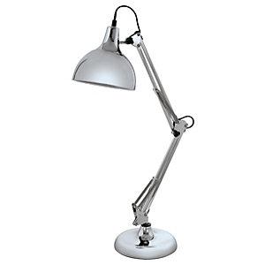 Eglo Borgillio Table Lamp - Chrome
