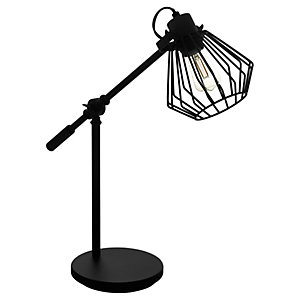 Eglo Tabillano 1 Table Lamp - Black