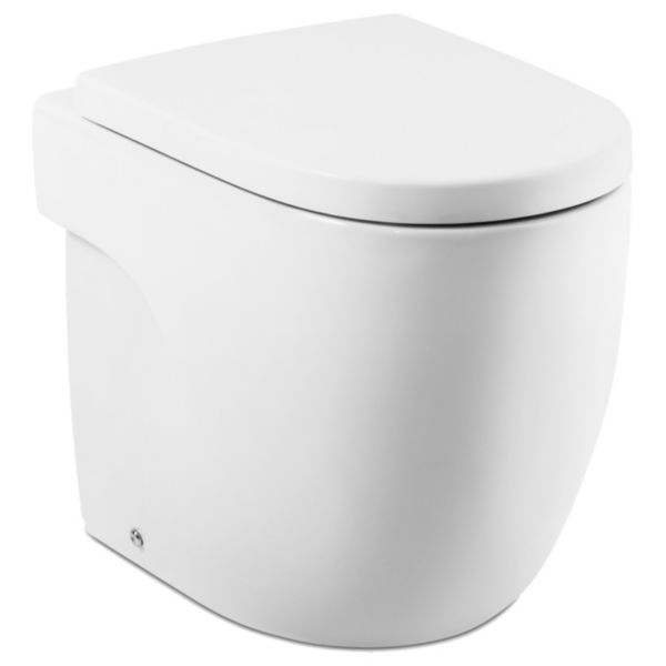 Meridian Easy Clean Back To Wall Furniture Pan & Soft Close Seat