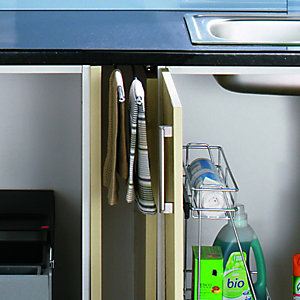 Wickes Pull Out Towel Rail Chrome